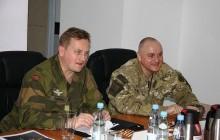 Spotkanie dowódców Wojsk Specjalnych Polski i Norwegii