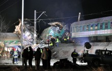 Tragedia na torach - 16 osób nie żyje 56 rannych akcja ratunkowa trwa [ZOBACZ ZDJĘCIA + VIDEO]
