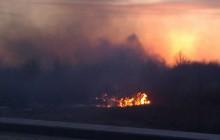 Płoną łąki na Ruczaju - 15  zastępów Straży walczy z ogniem [zdjęcia +video]