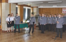Uroczystość nominacji na wyższe stopnie zainaugurowały Święto Policji w Małopolsce. [ zobacz zdjęcia ]