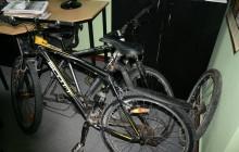 Policja rozlicza nastoletnich miłośników cudzych rowerów