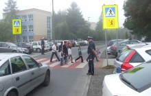 ?Bezpieczna droga do szkoły? z małopolską Drogówką