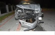Limanowa: Czołowe zderzenie samochodów - policja ustala kto kierował fordem
