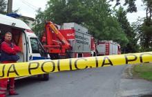 Tarnów:  Jedna osoba ranna po  eksplozji  materiałów wybuchowych