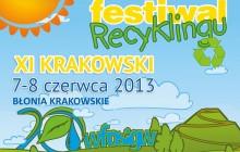 Festiwal recyklingu z rodziną w tle