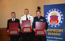 Dbają o bezpieczny Kraków: Prezydent wręczył nagrody [ zdjęcia ]