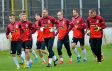 Reprezentacja Polski trenowała w Wieliczce przed meczem z Liechtensteinem [ zdjęcia ]