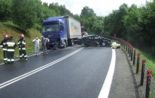 Sucha Beskidzka: Kolizja drogowa na ?Zakopiance?