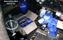 Domowa wytwórnia amfetaminy zlikwidowana. 55-letni