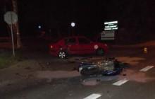 Bochnia: Wypadki z udziałem motocyklistów [ zdjęcia ]