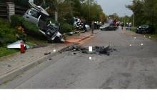 Limanowa: Groźny wypadek drogowy w Dobrej [ zdjęcia ]