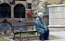 Dzień Zaduszny na Cmentarzu Rakowickim w obiektywie Piotra Wojnarowskiego [ zdjęcia ]