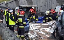 Śmiertelny wypadek na Zakopiance w Lubniu