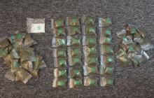Zatrzymany z blisko kilogramem narkotyków [ zdjęcia ]
