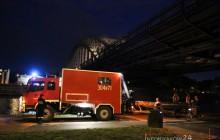 Kraków: Do Wisły wskoczyło dwóch mężczyzn, jeden z nich zniknął pod lustrem wody
