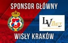 LV BET na koszulkach Wisły Kraków
