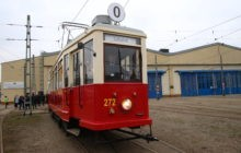 Historyczny tramwaj Ring wyjechał na ulice Krakowa [zdjęcia + video]