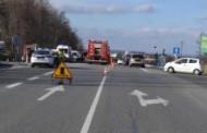 Dwa wypadki drogowe w powiecie krakowskim. Jeden ze skutkiem śmiertelnym, drugi z udziałem pieszego