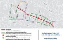 Remont trasy do Bronowic. Kolejne zmiany od niedzieli