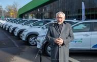 """#EKOrEWOLUCJA: """"elektryki"""" przyjechały do Krakowa"""
