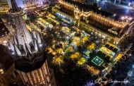 Świąteczne dekoracje rozświetlają Kraków [ ZDJĘCIA ]