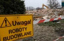 Budowa linii KST do Górki Narodowej: mimo zimowej aury prace idą bez przeszkód