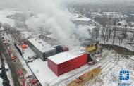 Praca strażaków dobiega końca