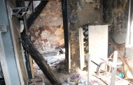 W pożarze pustostanu zginął pomieszkujący tam 44-latek. Zarzuty zabójstwa usłyszał inny bezdomny