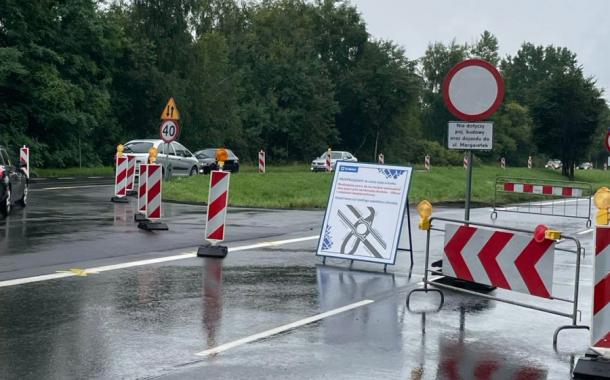 Modyfikacja ronda na ulicy Jasnogórskiej