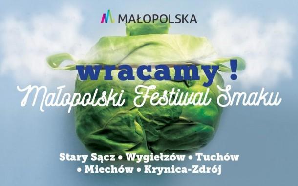 Wraca Małopolski Festiwal Smaku!