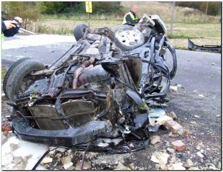 W wypadku drogowym w Szarowie zginęła jedna osoba