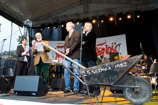 Dzień z Solidarnością w Krakowie
