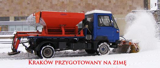 Kraków przygotowany do walki z zimą.