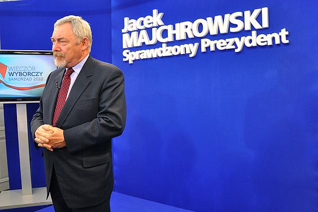?Jacek Majchrowski ? sprawdzony prezydent? ? briefing prasowy po I turze wyborów.