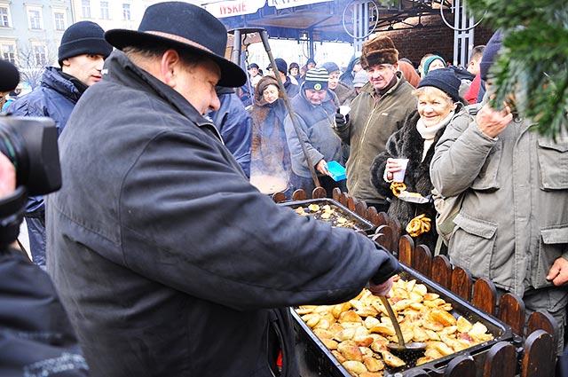 To już XIV Wigilia na Krakowskim Rynku Głównym