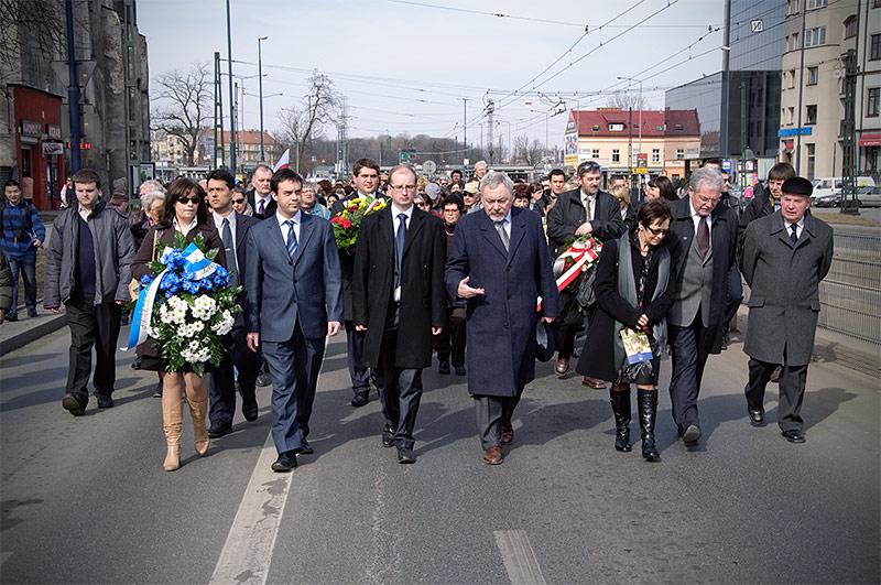 Marsz Pamięci - W rocznicę likwidacji krakowskiego getta w Podgórzu