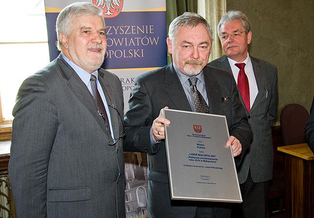 ?Najlepsze Przedsięwzięcie Roku - Lider Małopolski 2010?