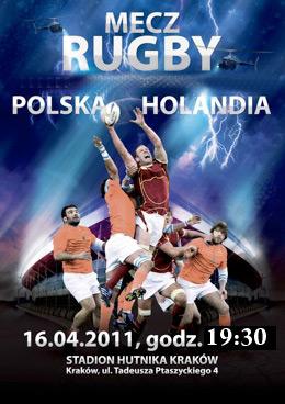 Mecz Polska - Holandia - RUGBY WRACA NA SUCHE STAWY