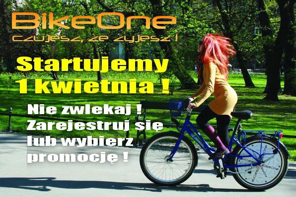 Miejskie rowery wracają na ulice Krakowa