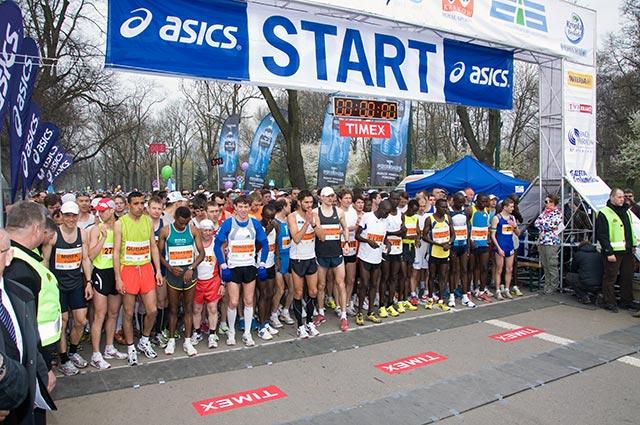 Cracovia Maraton: Szczęśliwa