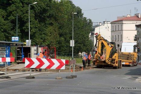 Od 04 do 10 maja - nie pojedziesz tramwajem ul.Wielicką