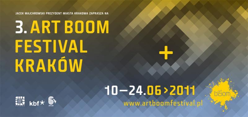 Ruszył ArtBoom Festival - artyści opanują ulice i place Krakowa