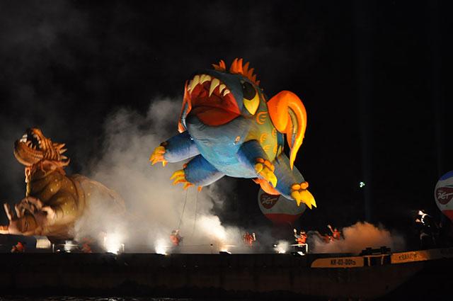 Wielkie Smocze Święto - Smoki rządzą Krakowem (video + zdjęcia )