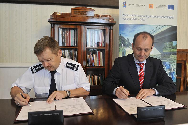 33 miliony Unijnej dotacji na wsparcie projektu Małopolskiej Platformy Elektronicznej Komunikacji Policji