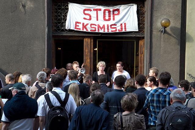 Z mapy Krakowa zniknie najstarszy antywariat? - Protest ( zdjęcia )
