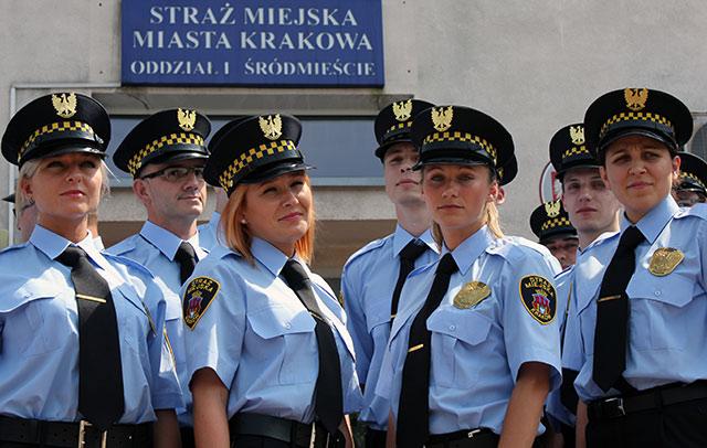 Kraków ma 40 Nowych Strażników Miejskich