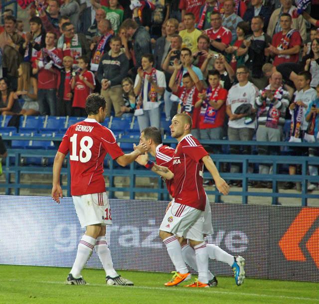 Pewna wygrana Wisły: Wisła Kraków -Skonto Ryga 2:0 ( zobacz zdjęcia)