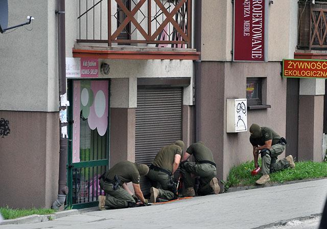 Policja zlikwidowała magazyn krakowskiego