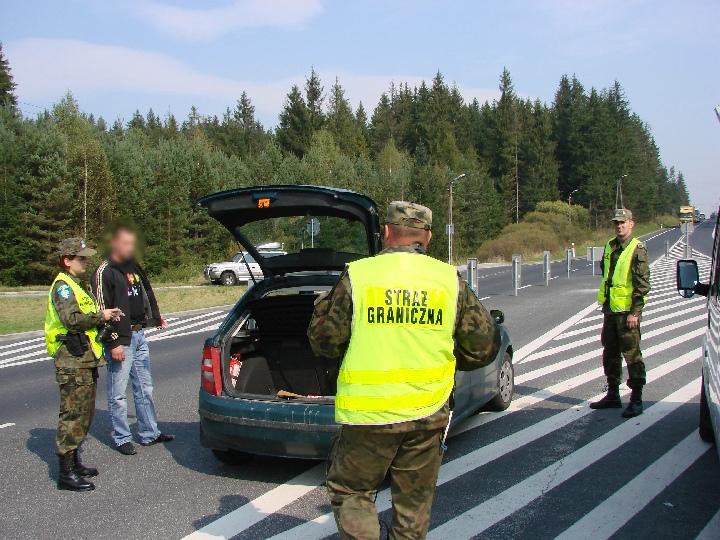 Straż Graniczna ćwiczy przed Euro 2012