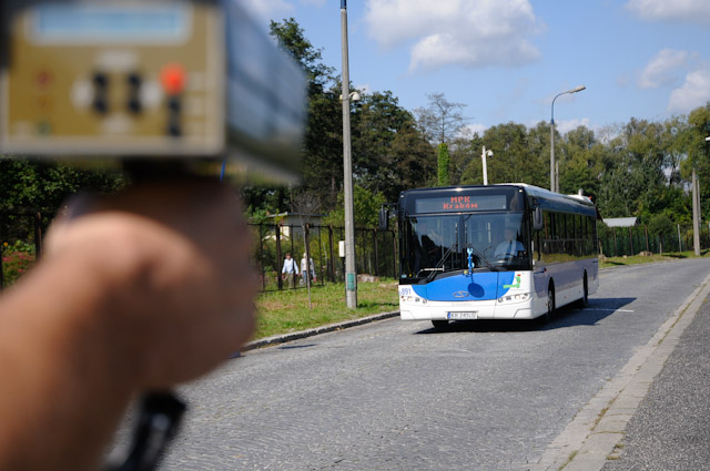 Bezpieczna jazda komunikacją miejską - Piotr Wróbel najlepszym kierowcą MPK 2011